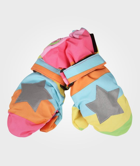 Molo Igor Gloves Girly Rainbow Multi