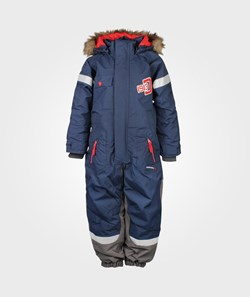 Didriksons Carnic Kids Coverall Navy