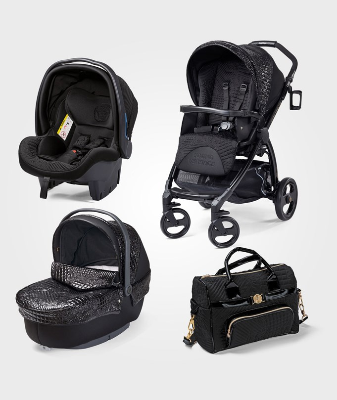 Young Versace Stroller Black