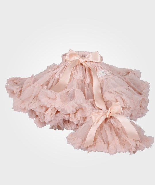 DOLLY by Le Petit Tom Chiffon Pettiskirt Ballet Pink Pink