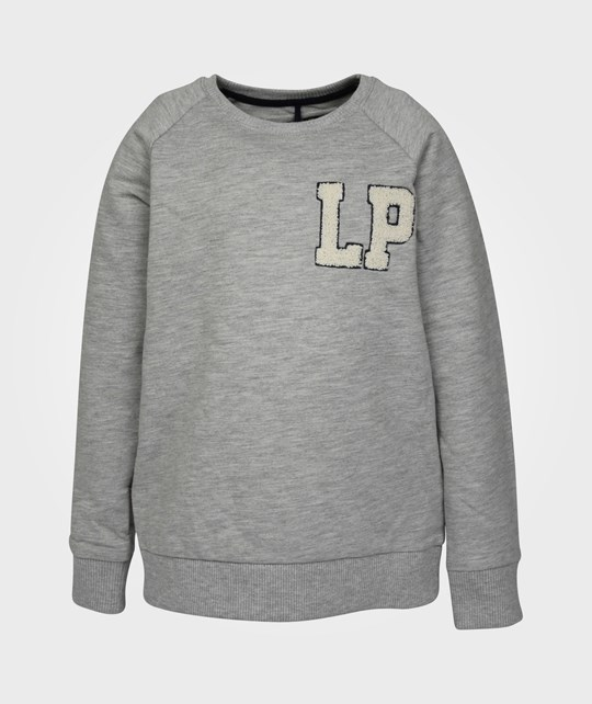 Little Pieces LPB LP Sweater Grey Melange Black