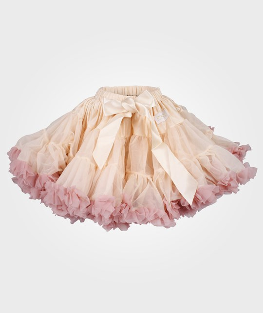 DOLLY by Le Petit Tom Brigitte Bardot Pettiskirt Cream/Dusty Pink Pink