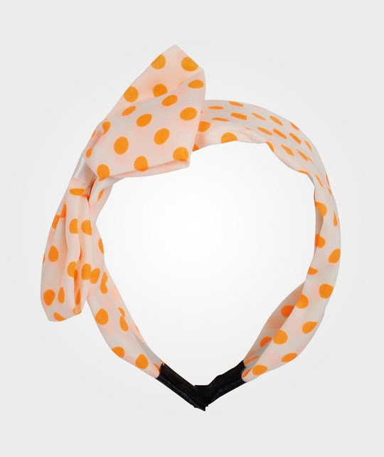 Molo Dot Hair Band Cantaloupe Multi