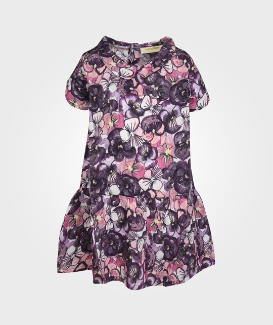 Soft Gallery Nola Pansy AOP Dress  Pink