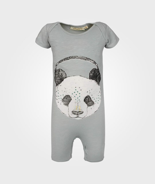 Soft Gallery Owen Panda Short Body Aqua Grey Black
