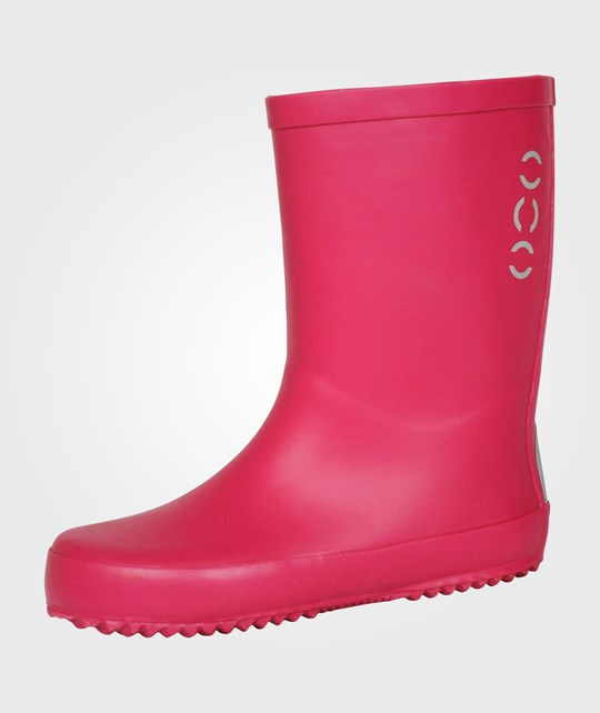 Mikk-Line Wellies Boots Solid Colour Pink Pink