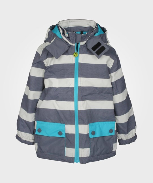 Mikk-Line Nylon Junior Boy Jacket Blue Atoll Blue