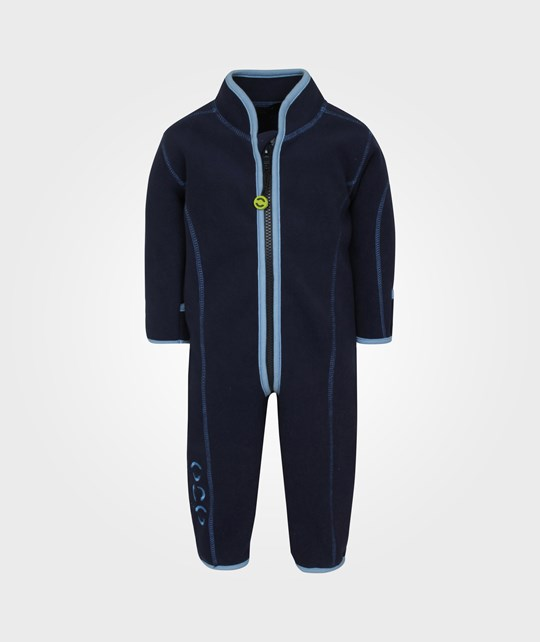 Mikk-Line Double Fleece Suit Light Blue Blue
