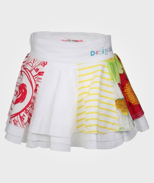 Desigual Skirt Blanco White