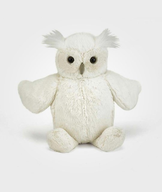 Jellycat Bashful Owl Small пестрый