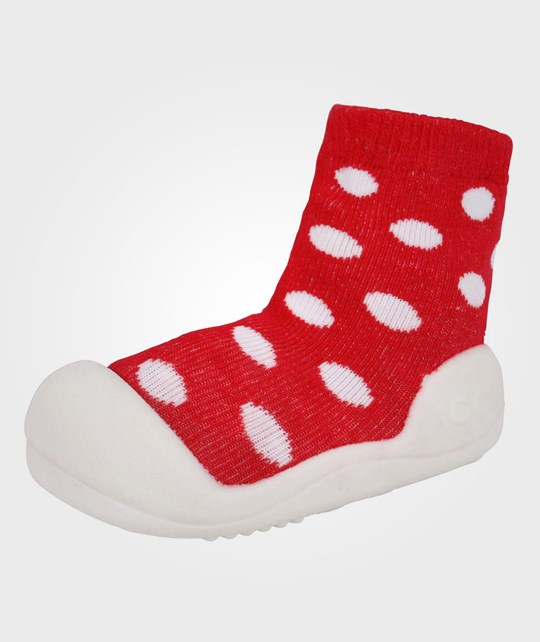 Attipas Polka Dot Red Red
