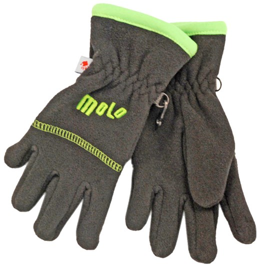Molo Mitten Crazy Green Black