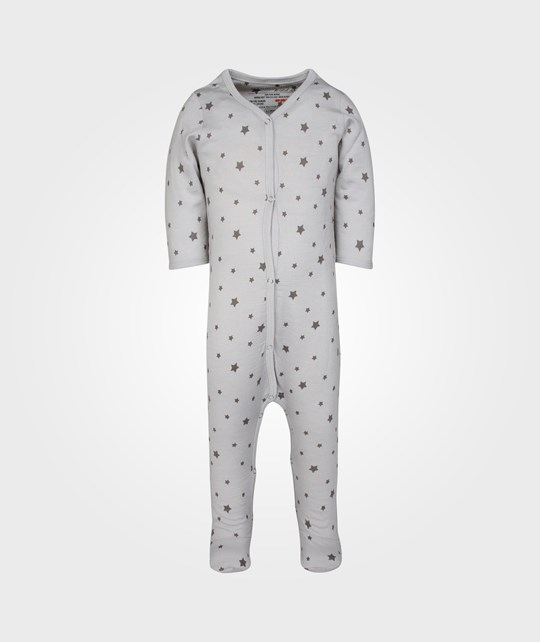 Merino Kids Essentials Growsuit Moon Rock Grey