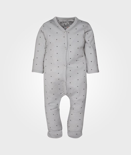 Merino Kids Cocooi All In One Moon Rock Black