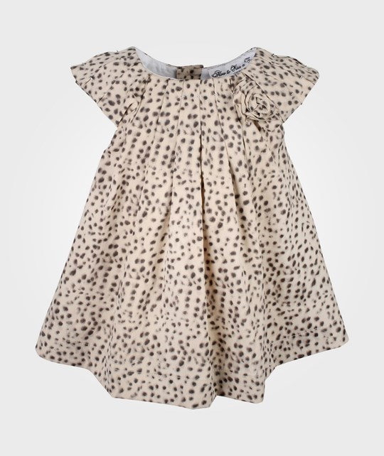 How To Kiss A Frog Estelle Dress Dots Beige