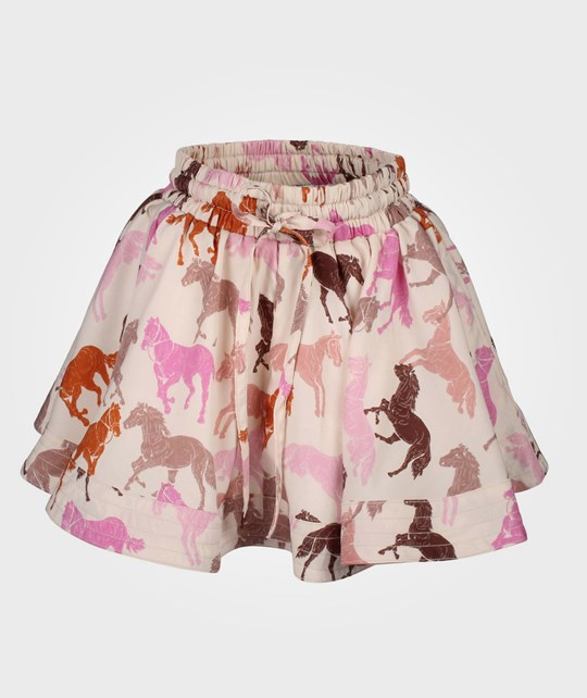 How To Kiss A Frog Wind Skirt Pink Horse Pink