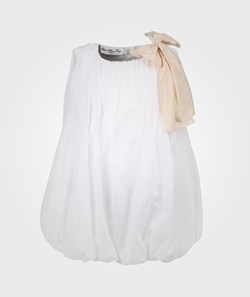 How To Kiss A Frog Zelda Dress White/Sand Bow