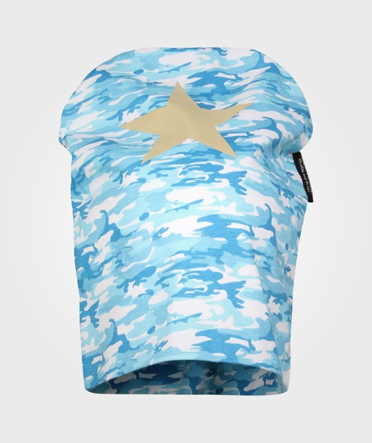 Lundmyr Of Sweden Kids Hat Blue Camo Blue