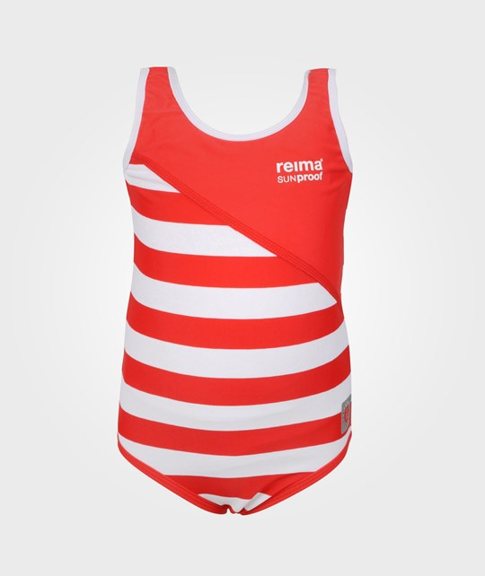 Reima Sumatra Swimsuit Flame Red Red