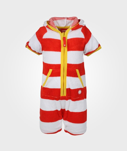 Reima Oahu Overall Flame Red Red