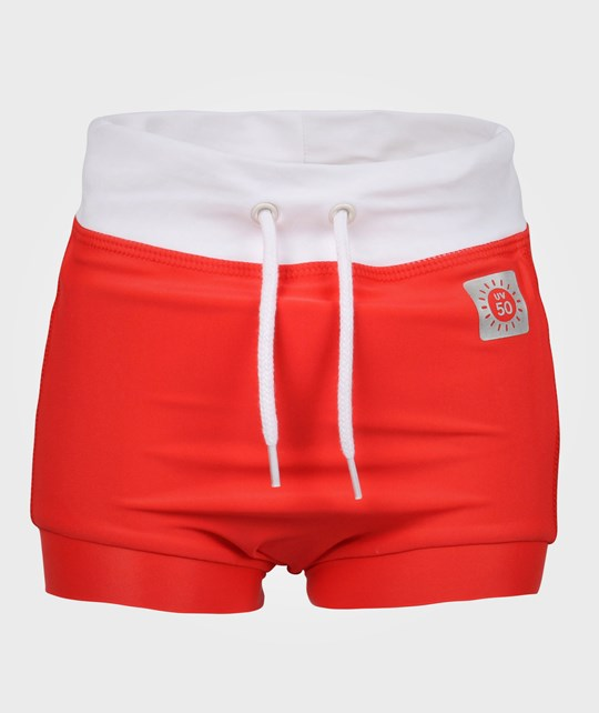 Reima Belize Swim Pants Flame Red Red