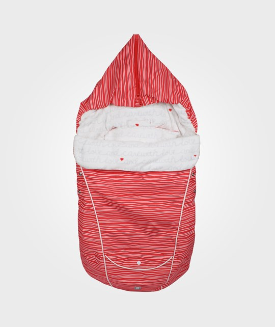 Reima Hafren Sleeping Bag Lt Red Red