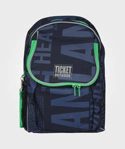 Ticket to heaven Beginners Bag Navy Letters
