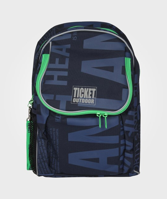 Ticket to heaven Beginners Bag Navy Letters Blue