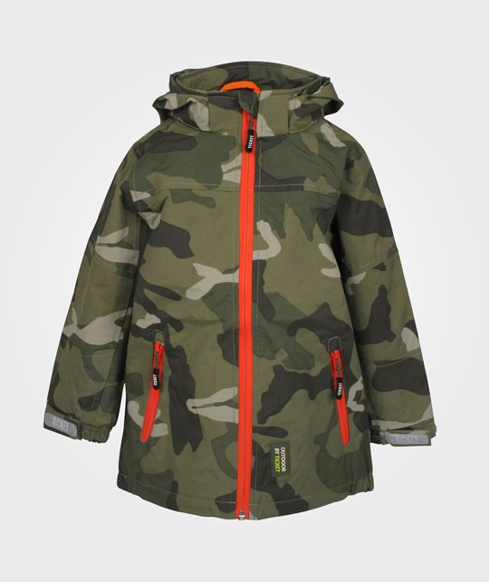 Ticket to heaven Noland Jacket Army Camo. Green