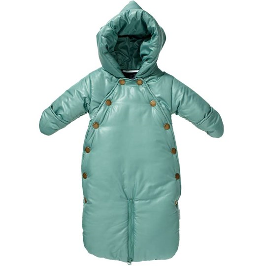 Mini A Ture Snowsuit Xina Frosty Green Green