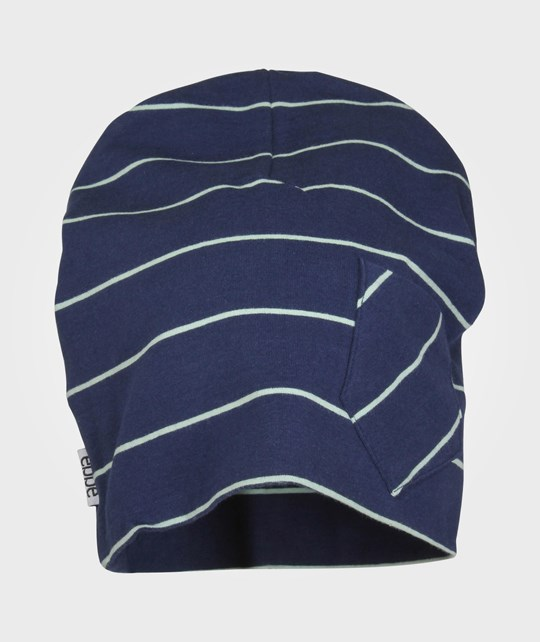 ebbe Kids Lo Beanie Navy/Mint Blue