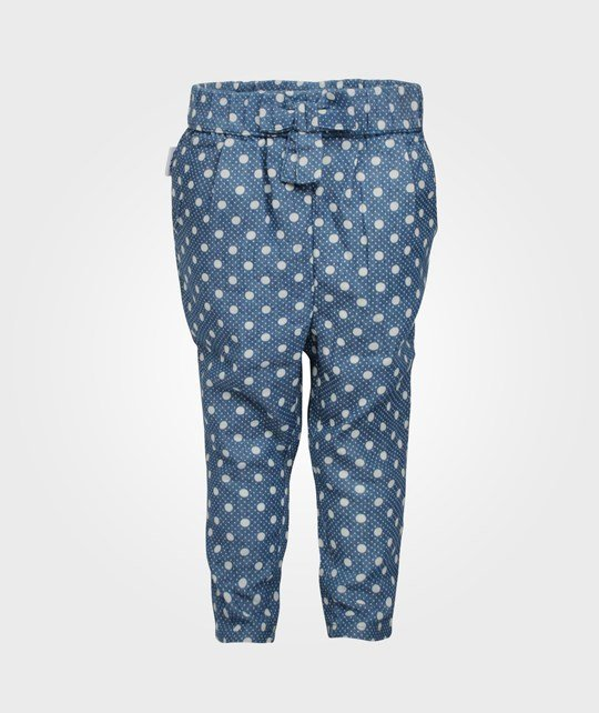 ebbe Kids Loreen Low Crotch Pant Dot Blue