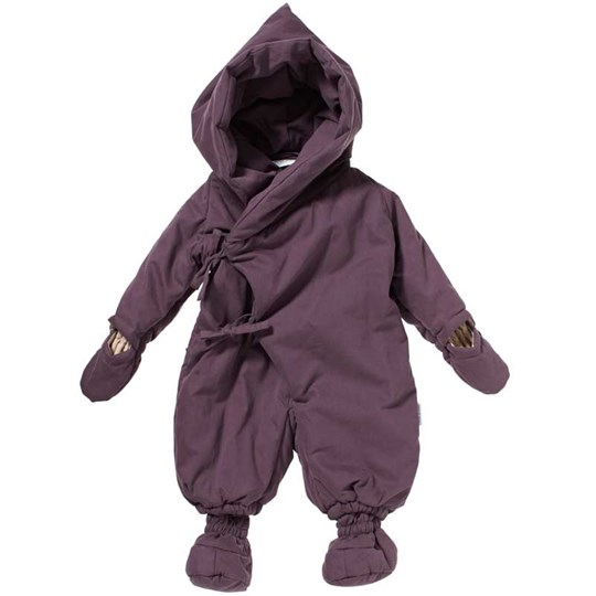Mini A Ture Snowsuit Fianna Vintage Violet Purple