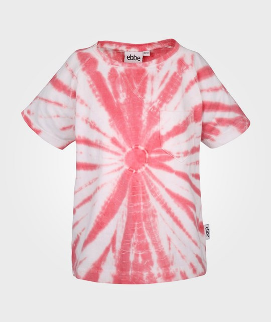 ebbe Kids Luck T-shirt White/Coral Circle Pink