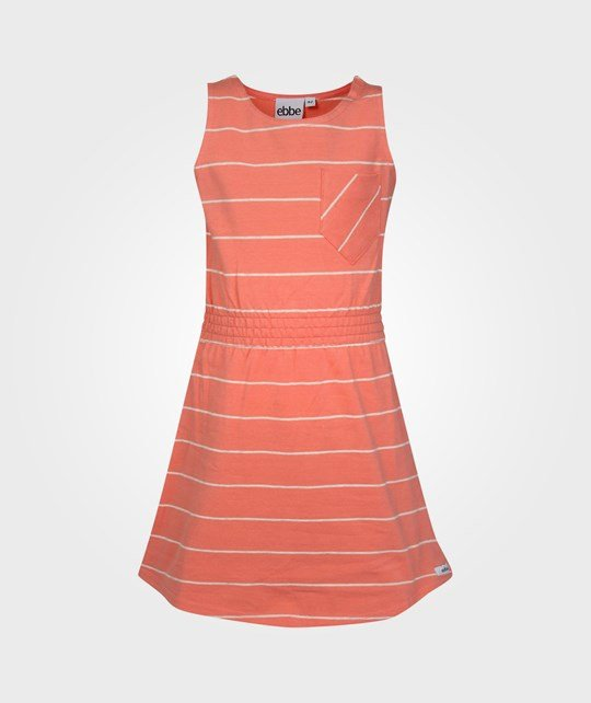 ebbe Kids Laura Dress With Waist Coral Pink