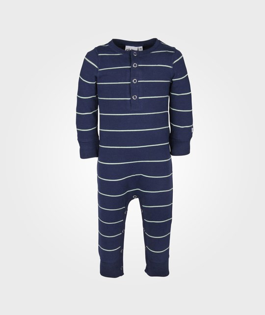 ebbe Kids Lukas Bodysuit Navy/Mint Blue