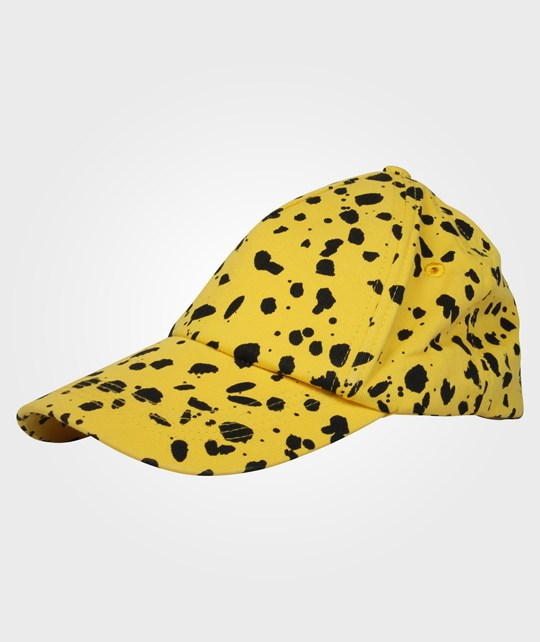 Mini Rodini Spot Cap Yellow Yellow
