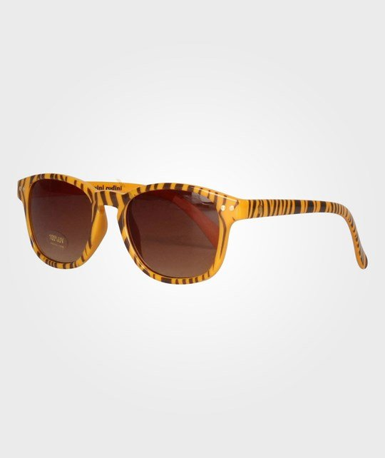 Mini Rodini Tiger Sunglasses Orange Orange