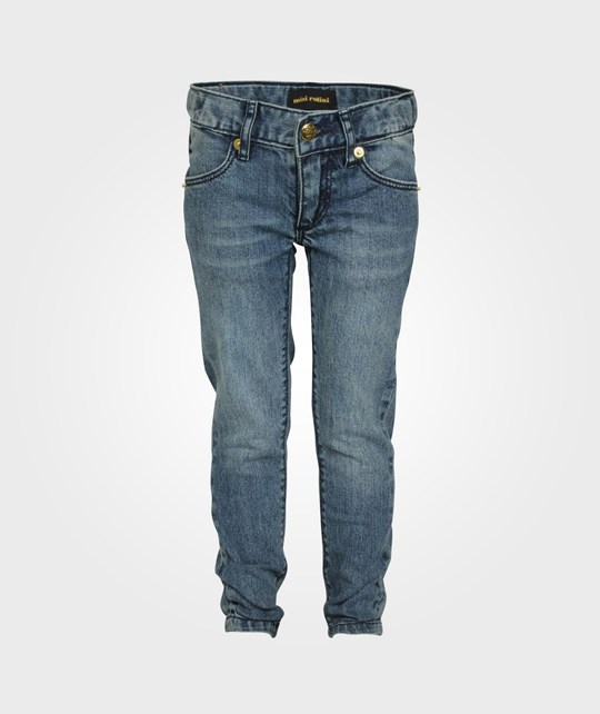 Mini Rodini New York Narrow Vintage Wash Blue