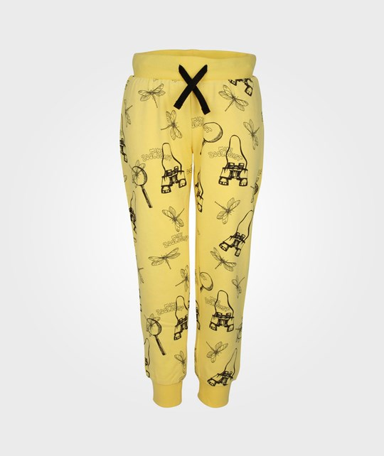 Mini Rodini Zoologist Sweatpant Yellow Yellow