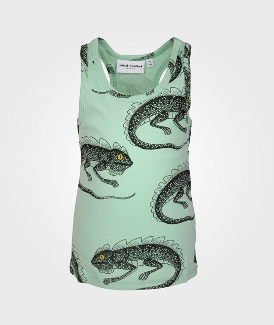 Mini Rodini Lizzard Tank Lt Green Green