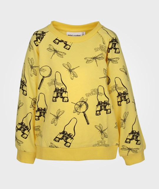 Mini Rodini Zoologist Sweatshirt Yellow Yellow