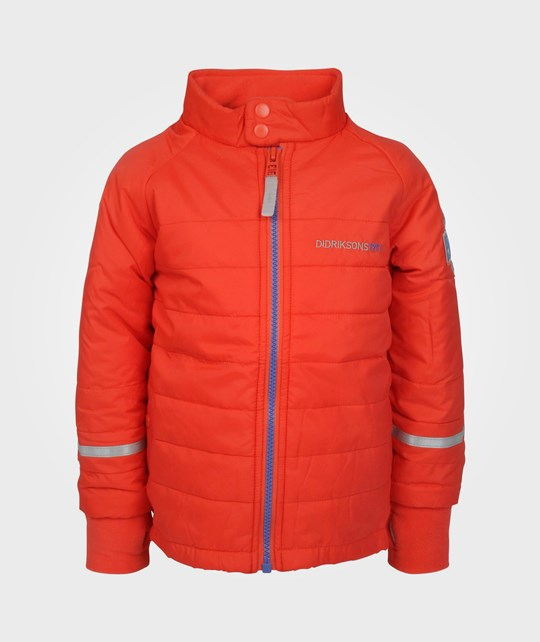 Didriksons Puffy Kids Jkt Poppy Red