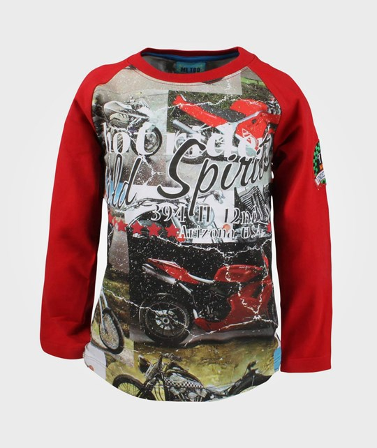 Me Too Timo LS Top Tango Red Red