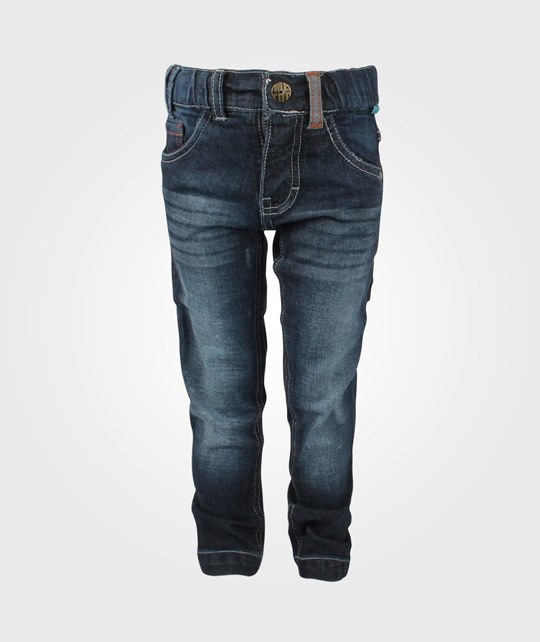 Me Too Selius Bam Fitted Pants Denim Blue