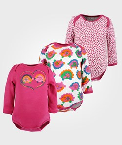 Me Too 3-pack Baby LS Body Girl
