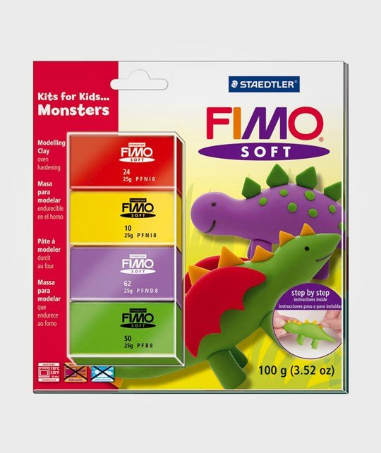 Staedtler Fimo Modeling Clay Monsters Multi