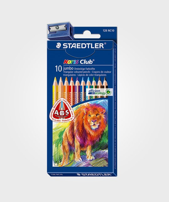 Staedtler Noris Club Jumbo Triangle 10ST Multi