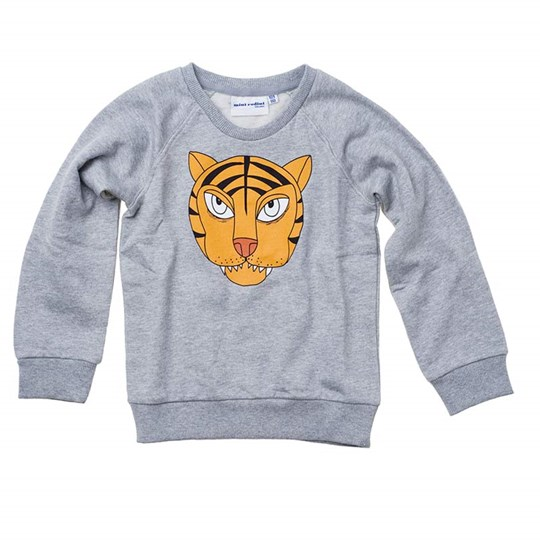 Mini Rodini Sweatshirt Lion Grey