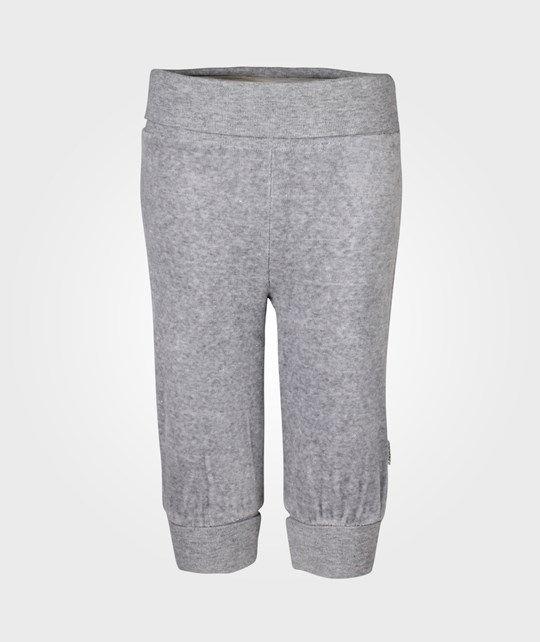Name it Pamela Velour Pant Grey Black
